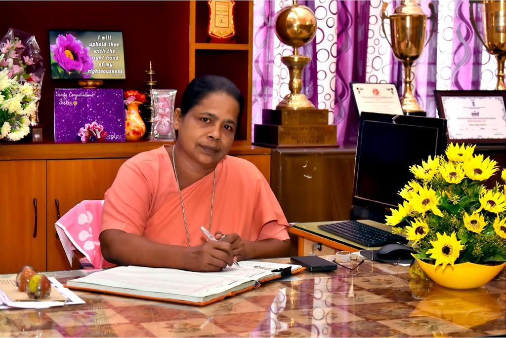 Dr. Sr. G. Celine Sahaya Mary (Principal)
